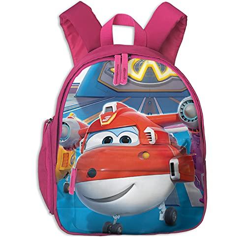 Mochila para niños para guardería, escuela preescolar, Super Wings On Tumblr mochila impermeable para bebé