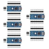 AITRIP 5PCS for Arduino Mini Nano V3.0 ATmega328P 5V 16M Micro Controller Board Module for ArduinoIDE