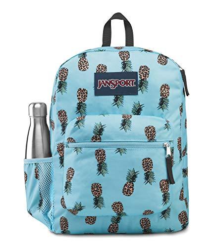 JanSport Cross Town Backpack - Leopard Pineapples