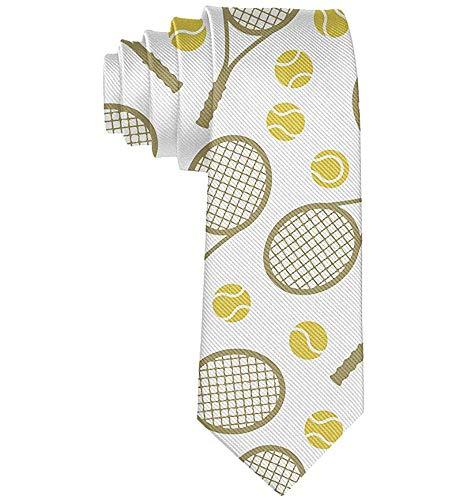 Mode Tennisschläger Bälle Männer 'S Krawatte Neuheit Geschenk Für Hochzeit Schule Krawatte