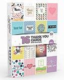 Joy Masters - 16 Tarjetas de Agradecimiento | Paquete Variado para Adultos y Niños | Gran Combo para Hombres y Mujeres - Vol. 1