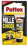 Pattex Millechiodi Forte & Rapido, adesivo di montaggio extra forte che sostituisce viti e...