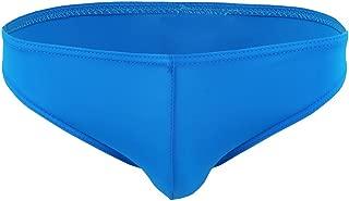 FEESHOW Men's Smooth Stretch Bikini Swimwear Underwear Swim Briefs