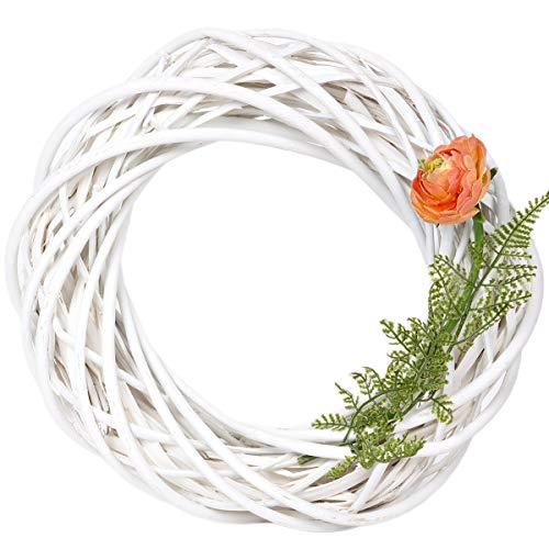 holzalbum Weidenkranz Ø 30 cm Zweige Weidenzweige Naturkranz Adventskranz Weidenring Deko