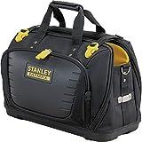 Stanley Fmst1-80146 Sac À Outils Gamme Fatmax - Base Rigide Étanche -600 deniers - Nombreuses Poches - Sangles d'Épaules Détachables - 4 Compartiments