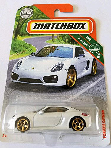 Matchbox Mattel Basic Die-Cast MBX Road Trip - Porsche Cayman (White)