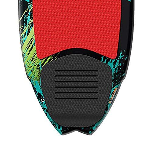 Airhead Pfish Beginner to Advanced 2 Fin Skim Style Wakesurf WakeBoard (2 Pack)