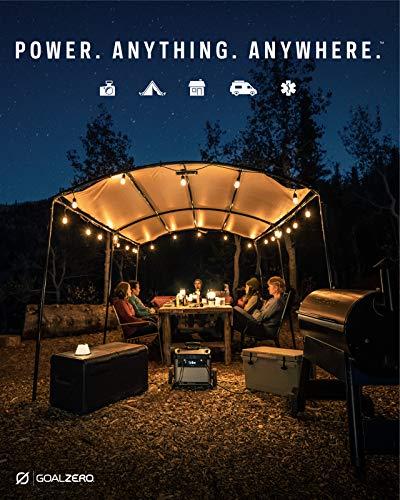 GOALZERO Yeti 3000X Portable Power Station, 2982Wh Portable Lithium Battery Emergency Power Station, 2000W Portable AC Inverter, Outdoor Portable Generator, Portable Solar Generator for Solar Panels