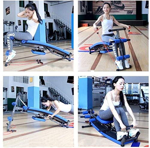 Review Of YLSP Consumer and Commercial Home Fitness Equipment Multifunction Supine Boards Ab Crunche...