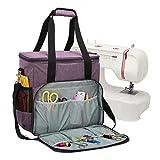 Bolsa de almacenamiento portátil de gran capacidad para máquina de coser y accesorios de costura.