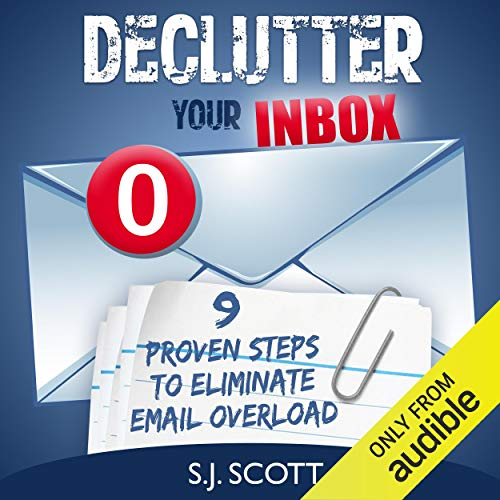 Declutter Your Inbox audiobook cover art
