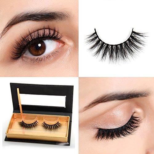 Arison Lashes 3D Mink Fur Fake Eye Lash False Eyelashes 100% Siberian Mink...