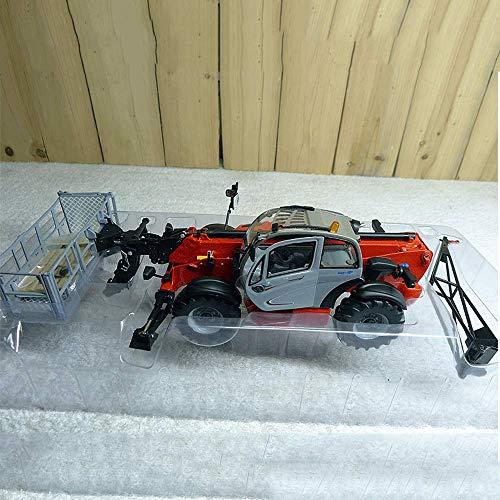 WANGCH 1:32 Vehículo de ingeniería, brazo largo extendido, vehículo de ingeniería de construcción de alta altitud, modelo de auto de alta precisión, colección, juguetes, cumpleaños y regalos de Navida