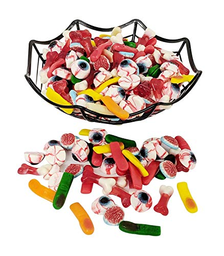 Gummy Missing Body Parts - 1LB Resealable Stand Up Candy Bag - Perfect For Halloween Parties, Trick or Treat Night, Pinatas, Office Candy Bowls, Wedding Favors, Easter Baskets
