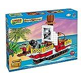 Unico Plus- Barco Pirata Juego de construcción (Androni 8536)