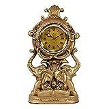XinQing Relojes de Escritorio Estilo Europeo salón Reloj Re