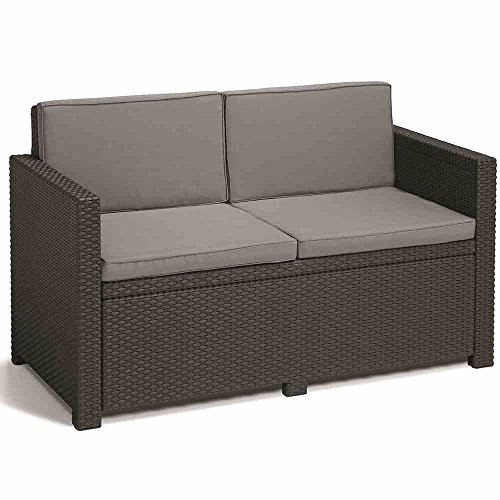Allibert Lounge Set Monaco, Grau, 4-teilig - 3