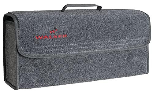 WALSER Bolsa de maletero, Bolsa de herramientas tamaño L, organizador de maletero de fieltro de aguja, bolsa de herramientas de maletero 22x16x50 cm