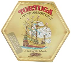 TORTUGA CARIBBEAN ORIGINAL RUM CAKE: Whether you're looking for personalized gourmet gifts for the rum cake lovers in your life or you're just looking for delicious gourmet cake, this will sure be a hit! QUALITY: This is one of the best superior qual...
