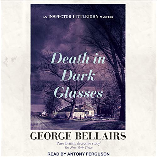 Couverture de Death in Dark Glasses