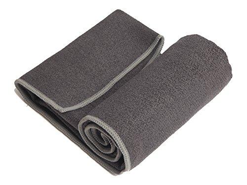 YogaRat Hand Charc-Ash 100% Microfiber Yoga Towels Size (15