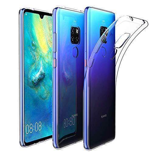 Amonke Hülle Durchsichtige Für Huawei Mate 20, Silikon Transparent Handyhülle für Huawei Mate20, Ultra Dünn TPU Schutzhülle für Huawei Mate 20