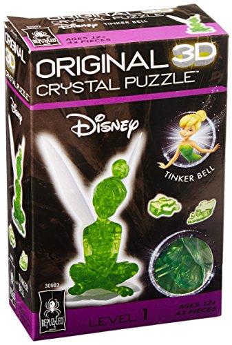 3 D Licensed Crystal Puzzle Tinker Bell