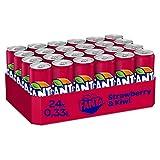Fanta Strawberry & Kiwi 24er Pack, EINWEG (24 x 330 ml)