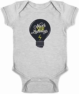 Never Stop Learning Infant Bodysuit