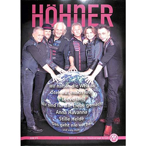 Höhner - Wir halten die Welt an - Songbook für Klavier, Gitarre - EMB970 9790501639700