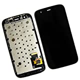 Skiliwah LCD Display Touch Screen Digitizer Assembly for Motorola Moto G XT1032 XT1036 XT1031 + Frame Black