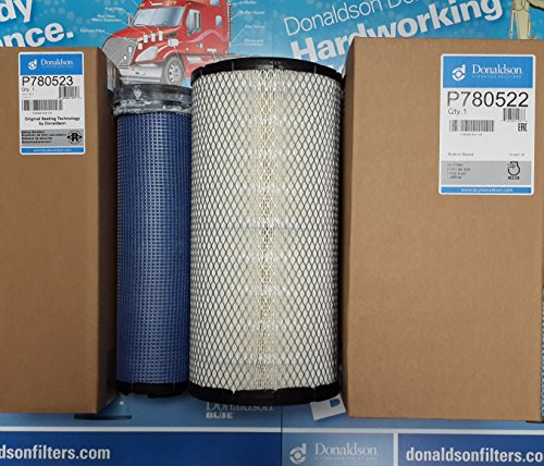 - P829332 AIR FILTERS SET BY SUINPLA DONALDSON P827653 PRIMARY SAFETY