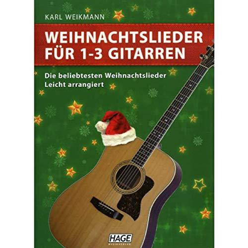 Hage - kerstliedjes voor 1-3 gitaren, nieuwe editie