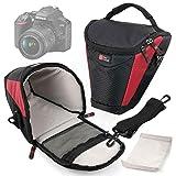 DURAGADGET Fundas, mochila y funda para Canon EOS 4000d, EOS 2000d, Nikon D3500, Fujifilm Instax SQ6Cámara réflex/analógica–Garantía 2Años