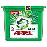 Ariel All-in-1 PODS Universal Strahlend Rein, 24Waschladungen