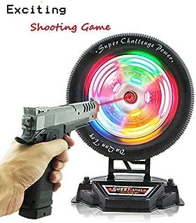Ziyier G&E: Shooting Wheel Target Game / Christmas Gift/ Birthday Present/ Boy War Game/ Long Distance Distance playing toy gun