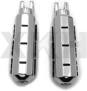 XKH- Compatible with Yamaha Stryker Virago 1100 750 V-Max V-Star 1100 650 Front Foot Peg Footrest Chr [B00Y8SH63E]