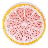 FENXIMEI Kinder Nickerchen Kreative Runde Obst Eiskissen 35 cm Pet PVC Gel Pad Sommer Hund Kissen