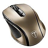 Qtuo 超静音ワイヤレス マウス無線