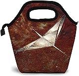 Bolsa de almuerzo con aislamiento de mapa de constelación de Cygnus de arte astronómico personalizado Bento Box Picnic Cooler bolso portátil bolsa de almuerzo para mujeres niñas hombres niño