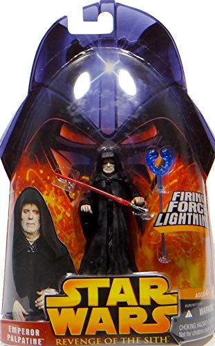 Emperor Palpatine Firing Force Lightning No.12 Star Wars Revenge of the Sith Collection 2005 Hasbro