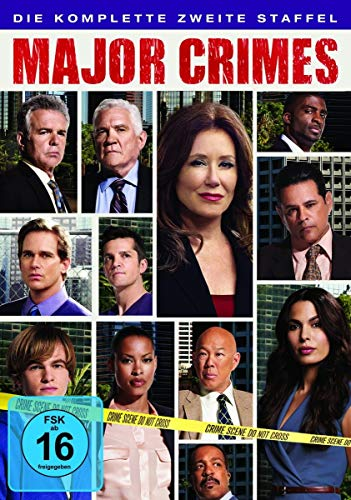 Major Crimes - Die komplette zweite Staffel [4 DVDs]