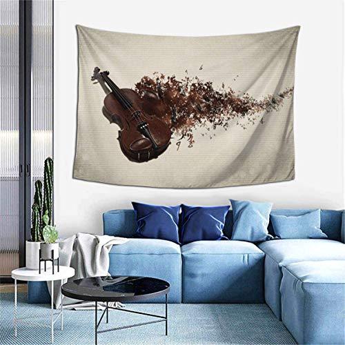 N\A Tapiz para Colgar en la Pared, tapices artísticos de Guitarra Musical para Dormitorio, Sala de Estar, Dormitorio, Manta de Pared, Toallas de Playa, decoración del hogar
