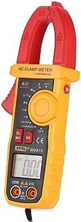 數字DC/AC鉗形表萬用表Volt Amp歐姆二極管NCV電容測試儀手持式非接觸式電流表測試儀(BM818)