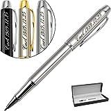Stylo Personnalisé,avec gravure de prénom ou texte au choix,cadeau stylo personnalisé-Encre noire et 0.7mm