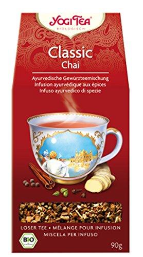 Yogi Classic Chai BIO 4 Packungen à 90 g, loser Tee