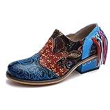 Chaussures pour femmes, nouvelles chaussures de mode en cuir de style brock...