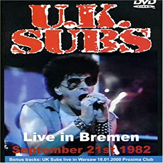 U.K. Subs - Live in Bremen 1982 [Import anglais]
