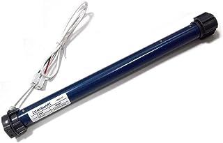Zemismart Tube d/'enroulement 20mm /à moteur /électrique pour volet roulant automatique Broadlink RF433 DC12//24/V avec t/él/écommande