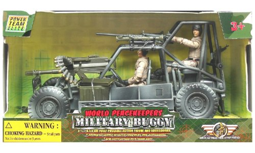 World Peacekeepers Militaire Buggy & Figurines